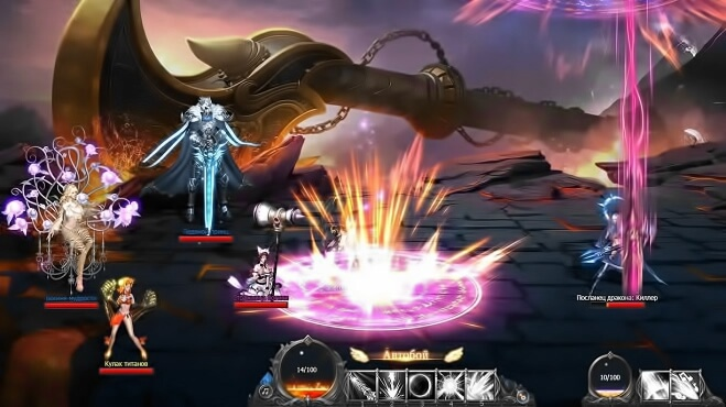 Dragon Knight 2 играть онлайн
