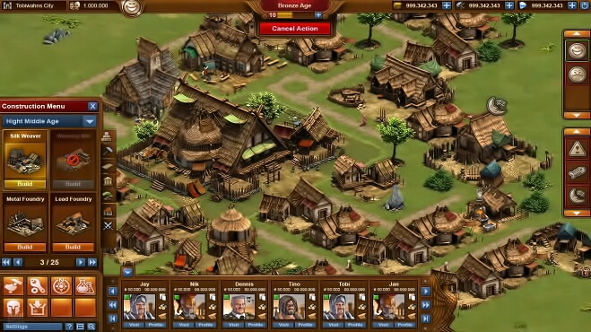 Forge of Empires бесплатно